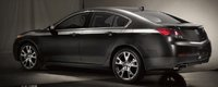 2013 Acura TL, Back quarter view., exterior, manufacturer