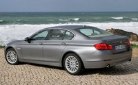 2013 BMW 5 Series, Back quarter view., manufacturer, exterior