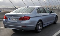 2013 BMW 5 Series, Back quarter view., exterior, manufacturer