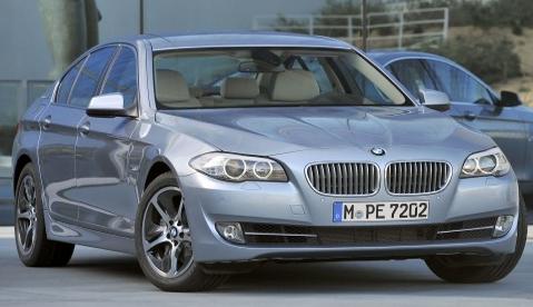 2013 BMW 5 Series, Front quarter view., exterior, manufacturer