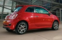 2013 Fiat 500, Back quarter view copyright AOL Autos., exterior, manufacturer