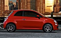 2013 Fiat 500, Side View copyright AOL Autos, exterior, manufacturer