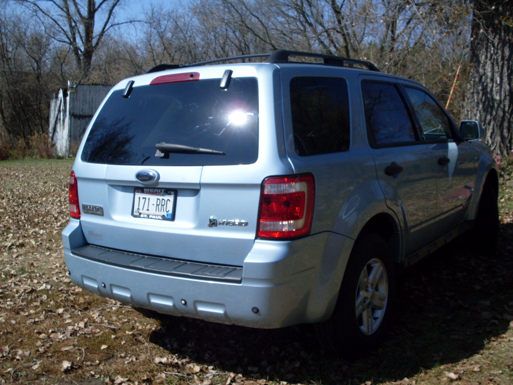 picture of 2008 ford escape hybrid awd exterior. Black Bedroom Furniture Sets. Home Design Ideas