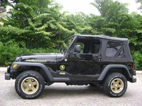 2006 Jeep Wrangler Sport Golden Eagle Edtion, Sitting outside ........., exterior, gallery_worthy