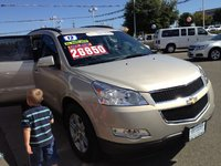 2012 Chevrolet Traverse 1LT AWD, Just off the dealership, exterior