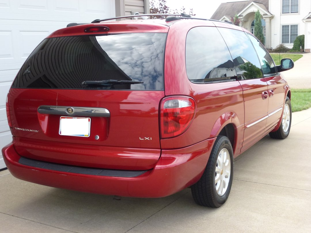 picture of 2001 chrysler town country lxi awd exterior. Cars Review. Best American Auto & Cars Review