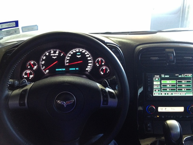 Picture of 2009 Chevrolet Corvette Coupe 3LT, interior