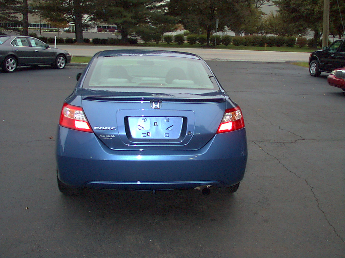 picture of 2009 honda civic coupe lx exterior. Black Bedroom Furniture Sets. Home Design Ideas
