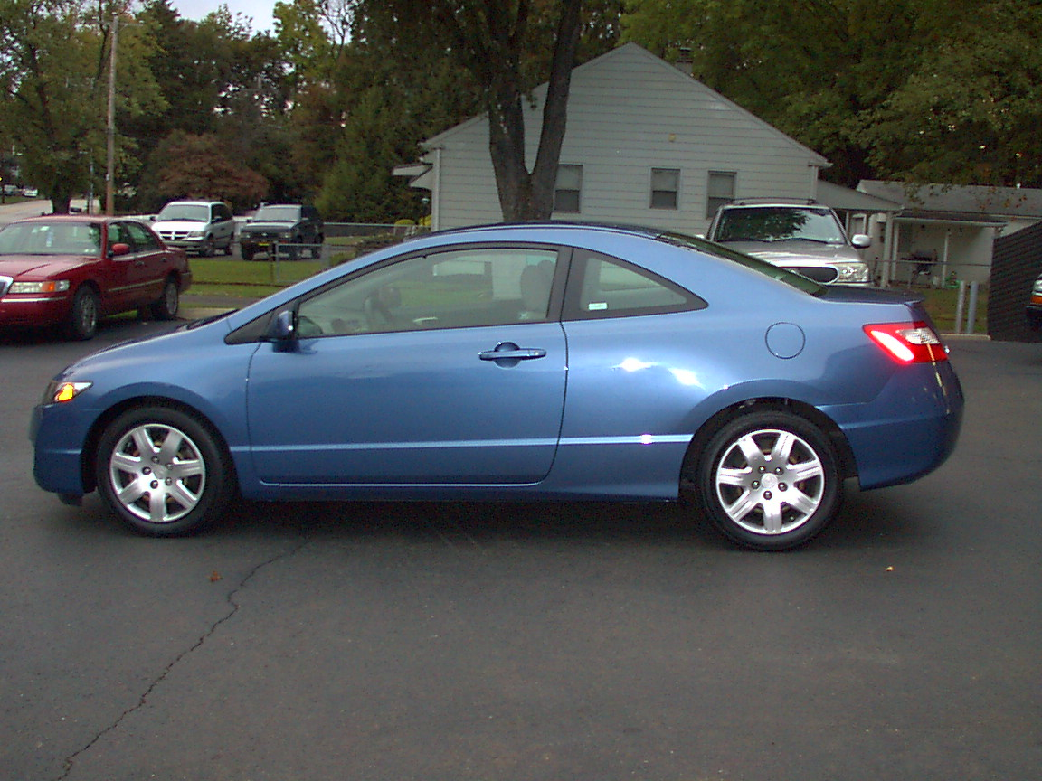 2009 honda civic coupe lx view garage macsales owns this. Black Bedroom Furniture Sets. Home Design Ideas