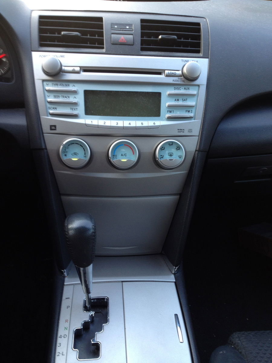 2007 toyota camry interior pictures cargurus. Black Bedroom Furniture Sets. Home Design Ideas
