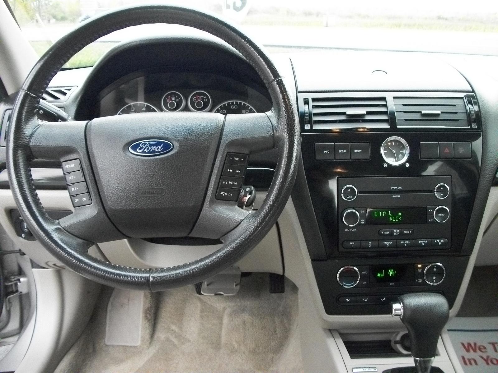 2008 Ford Fusion Interior Dimensions
