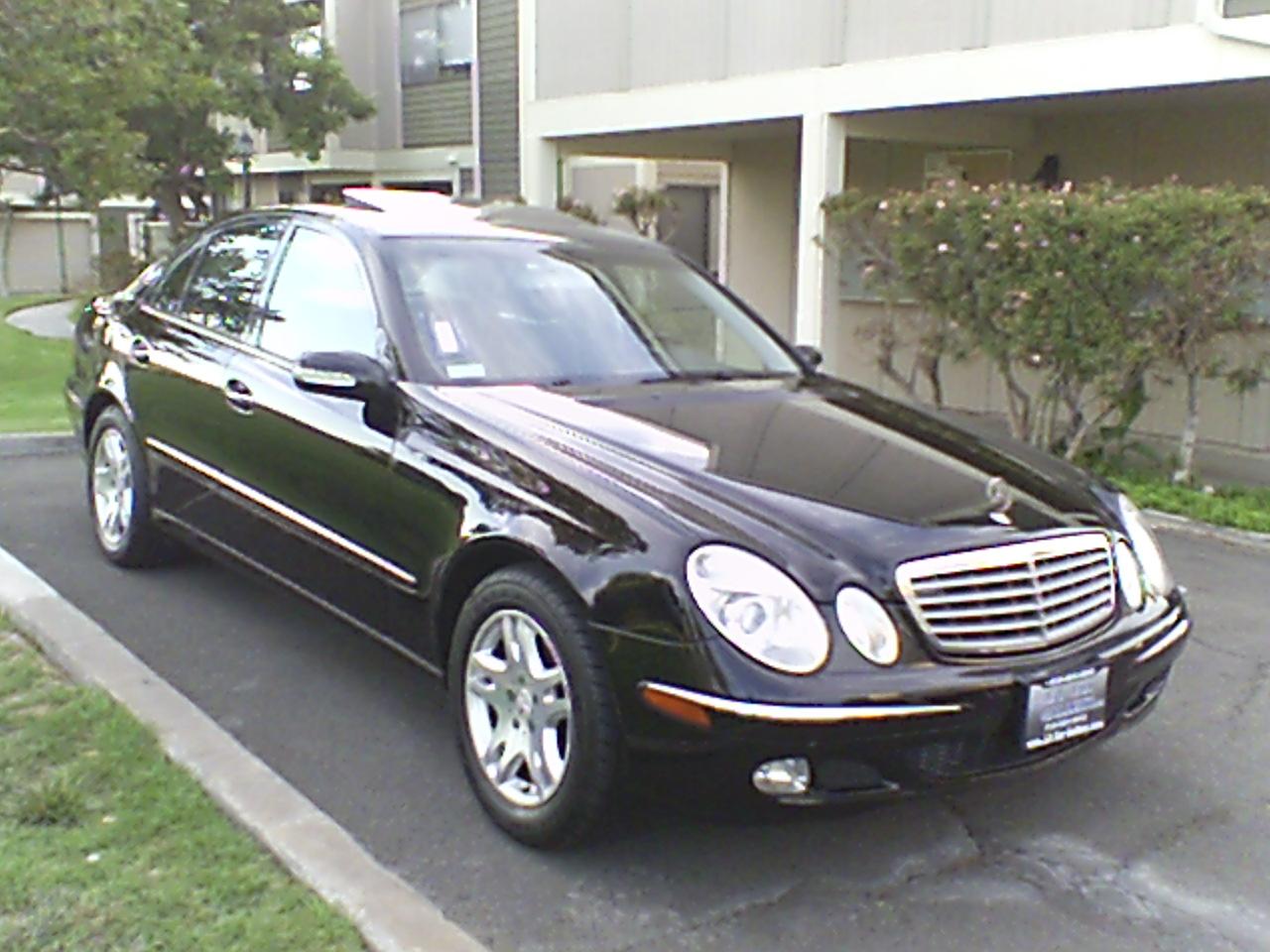 Service manual 2002 mercedes benz e class remove outside for Mercedes benz millenia