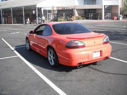 Pontiac Grand Prix Gtp Supercharged
