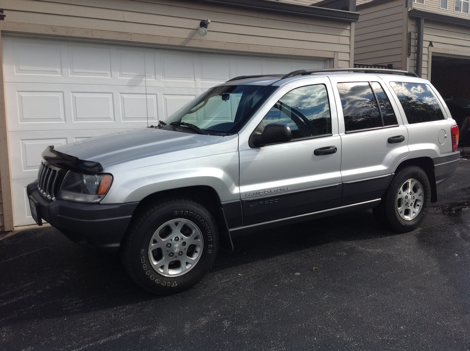 picture of 2002 jeep grand cherokee laredo 4wd exterior. Cars Review. Best American Auto & Cars Review