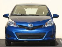 2013 Toyota Yaris, Front View copyright AOL Autos., manufacturer, exterior