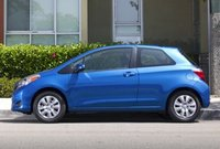 2013 Toyota Yaris, Side View copyright AOL Autos., manufacturer, exterior