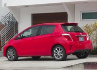 2013 Toyota Yaris, Back quarter view copyright AOL Autos., manufacturer, exterior