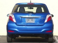 2013 Toyota Yaris, Back View copyright AOL Autos., manufacturer, exterior