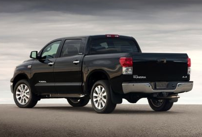 2013 Toyota Tundra, Back quarter view copyright AOL Autos., manufacturer, exterior