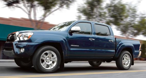 2013 Toyota Tacoma, Front quarter view., exterior, manufacturer