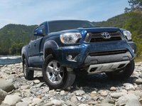 2013 Toyota Tacoma, Front View., exterior, manufacturer