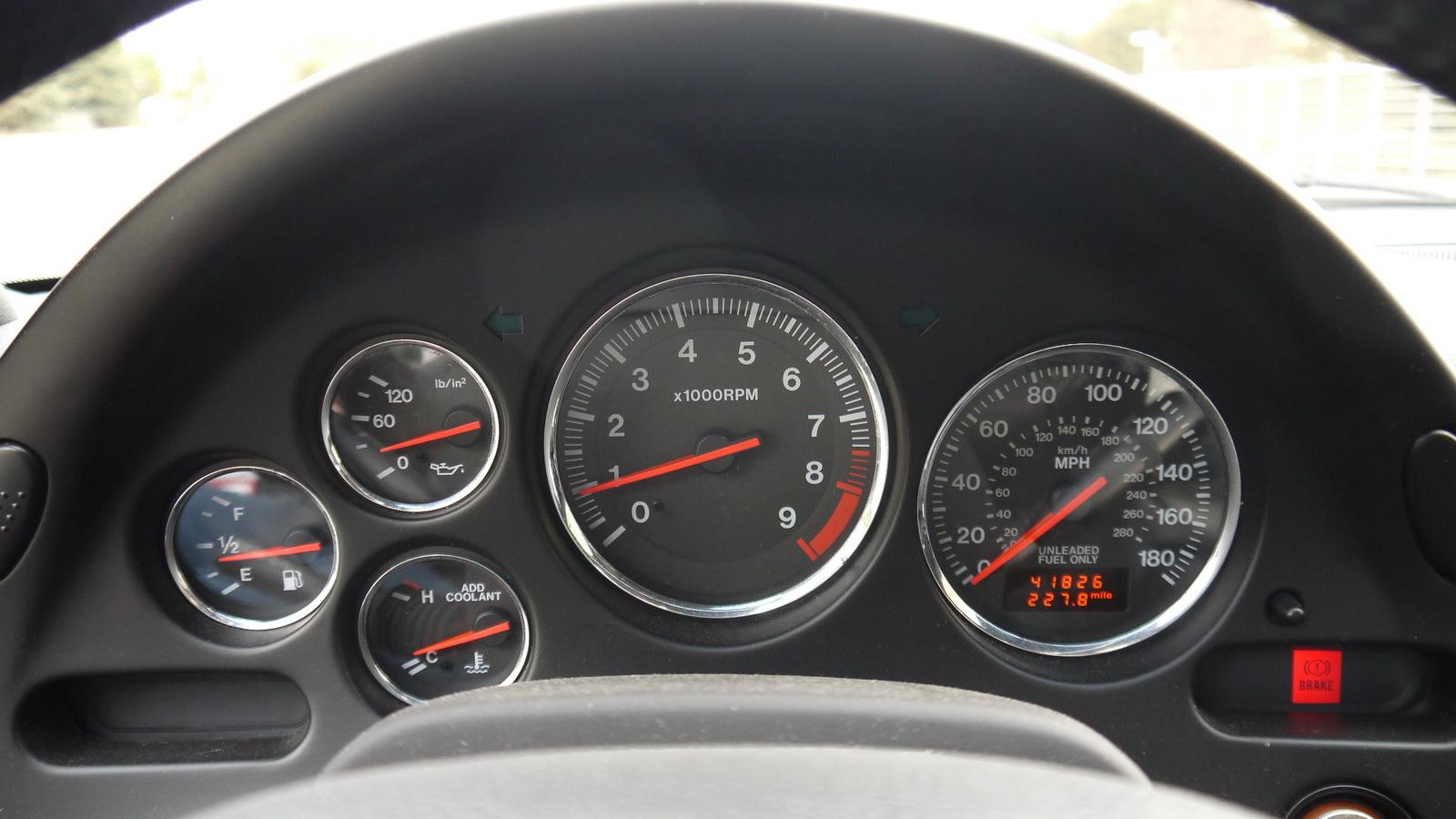 Mazda rx7 2002 interior