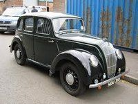 1948 Morris Eight Overview