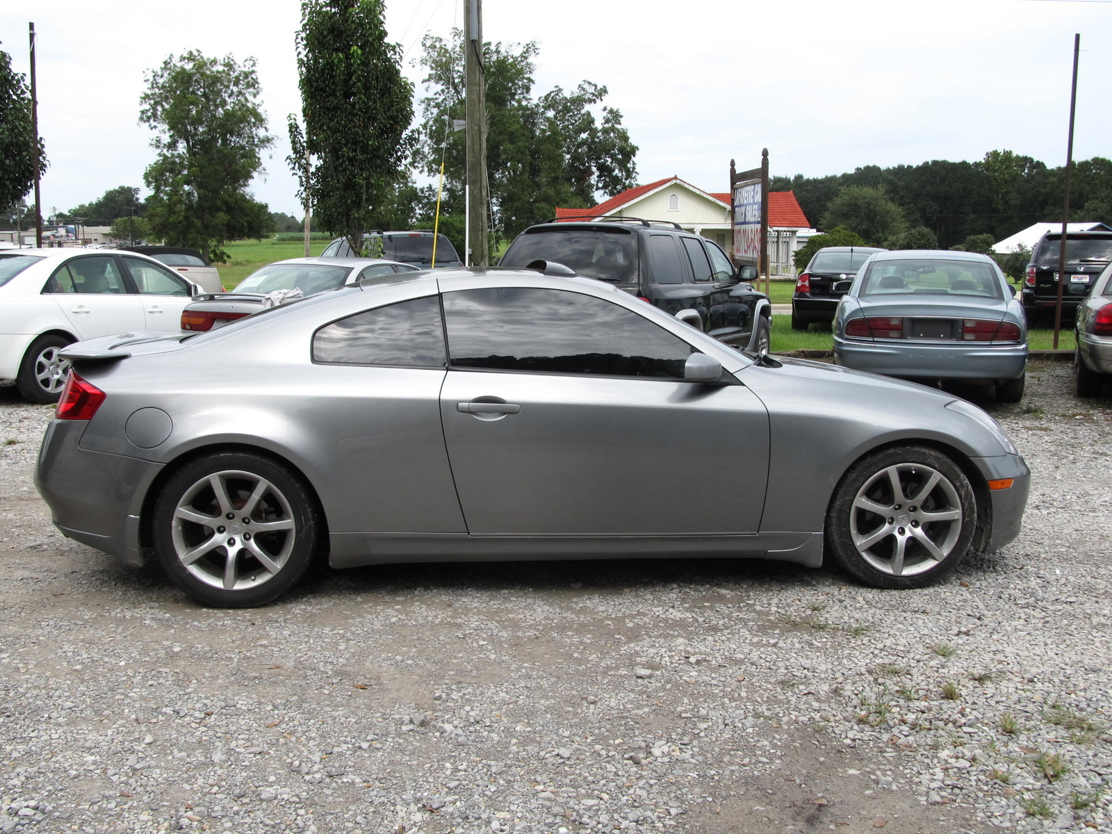 picture of 2004 infiniti g35 coupe exterior. Black Bedroom Furniture Sets. Home Design Ideas