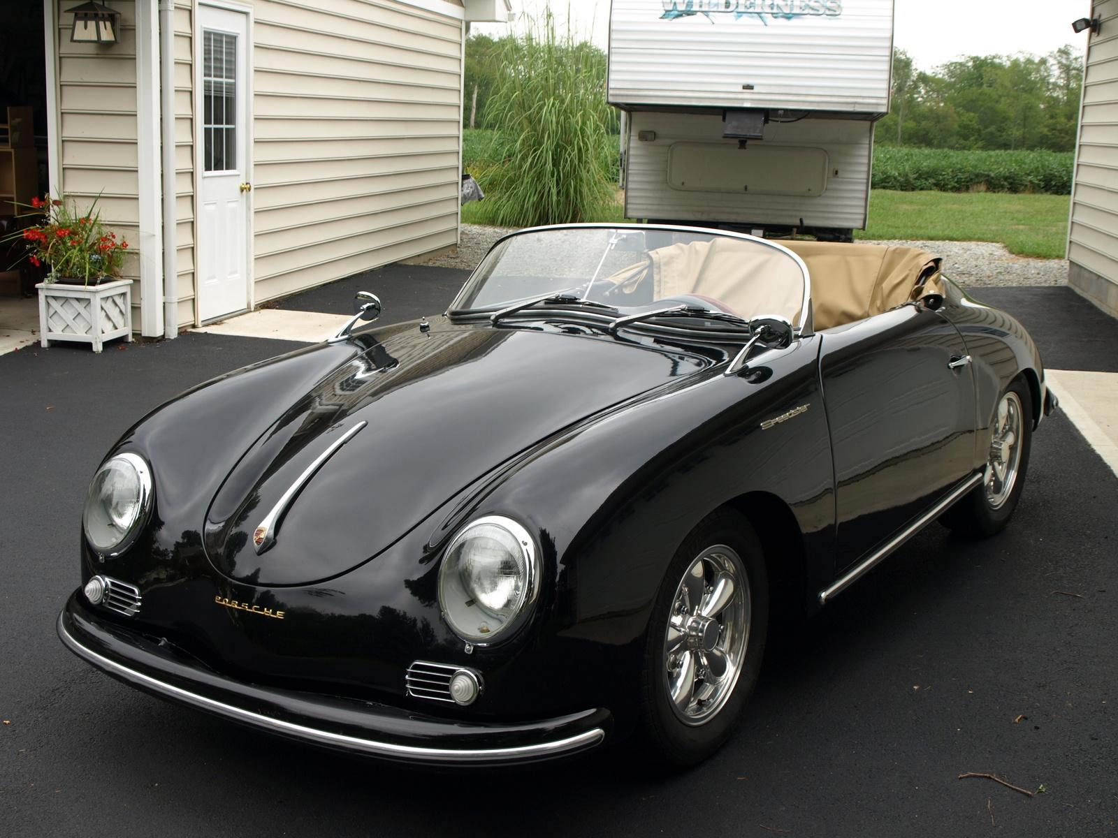Carros Antigos Porsche 356 1955