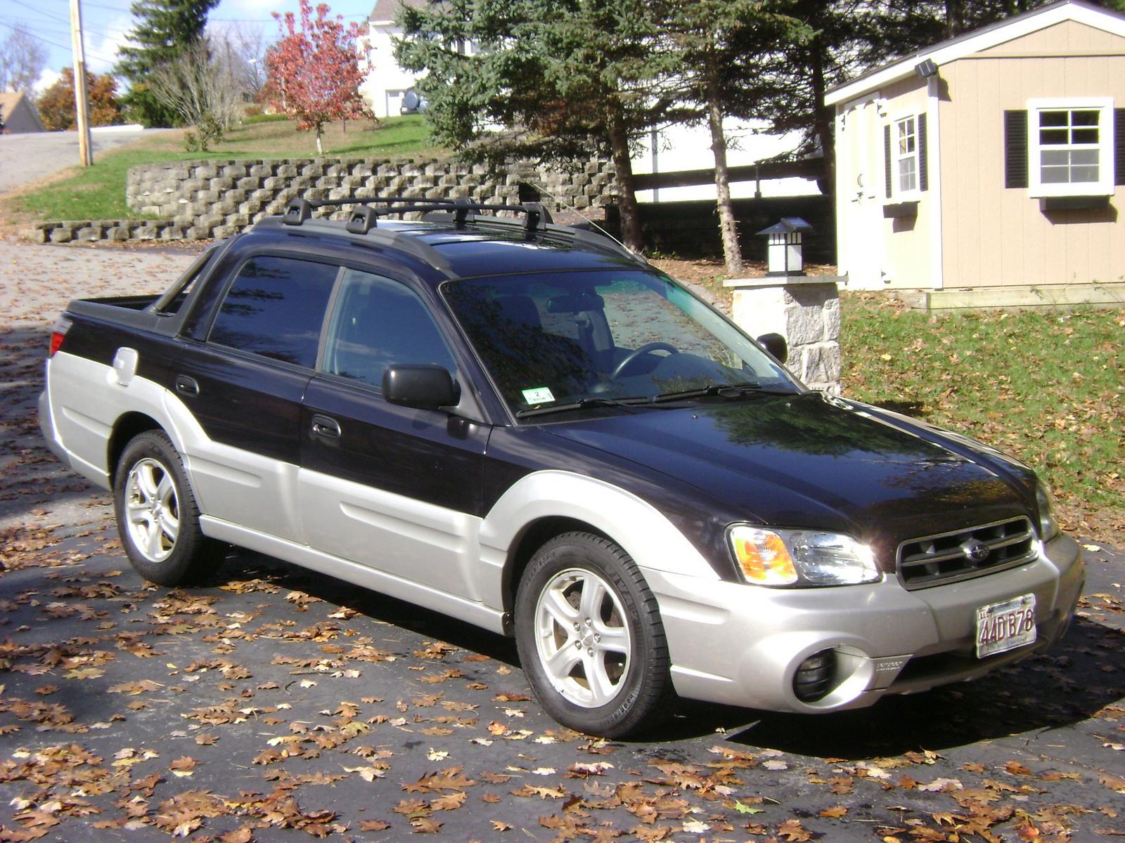 2003 Subaru Baja Specifications Cargurus