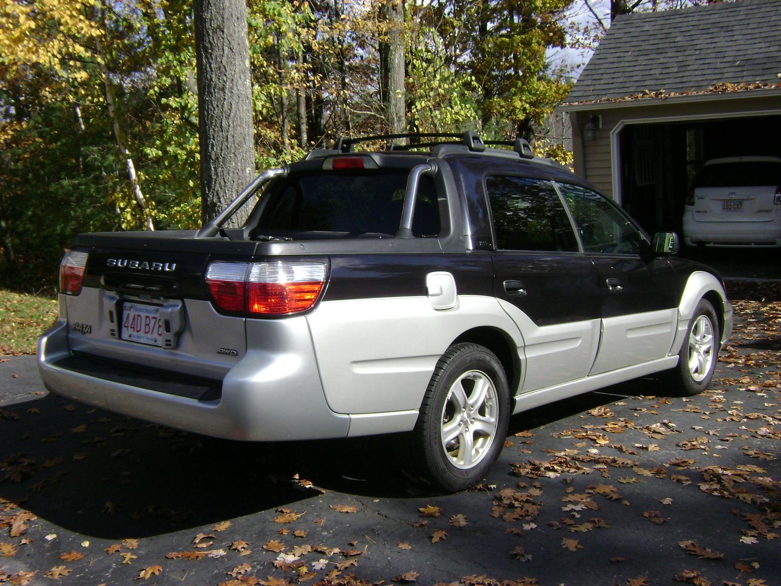 2003 Subaru Baja Pictures Cargurus