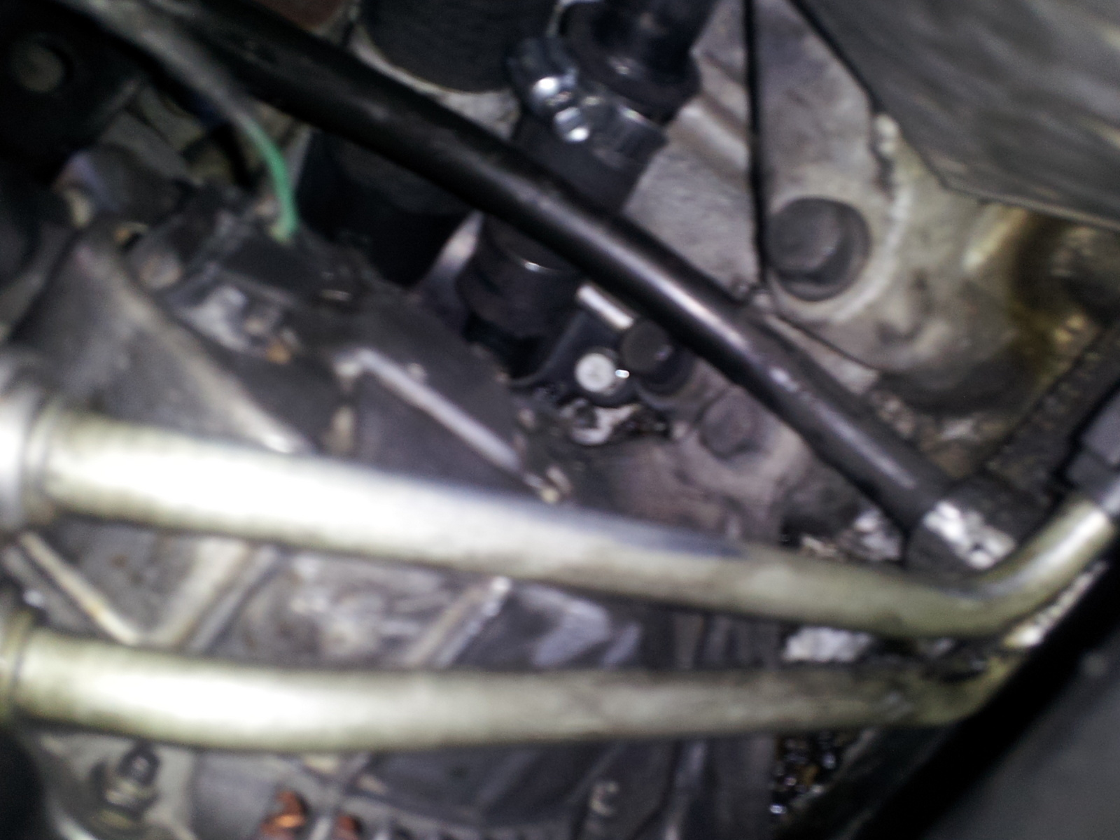 2.7 engine. have a little hole that keeps leaking coolant from the motor .  its not cracked and there is no grooves so no screw is missing. we think it  might ...