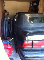 1994 Chevrolet Cavalier Z24 Convertible, Picture of 1994 Chevrolet Cavalier 2 Dr Z24 Convertible, exterior