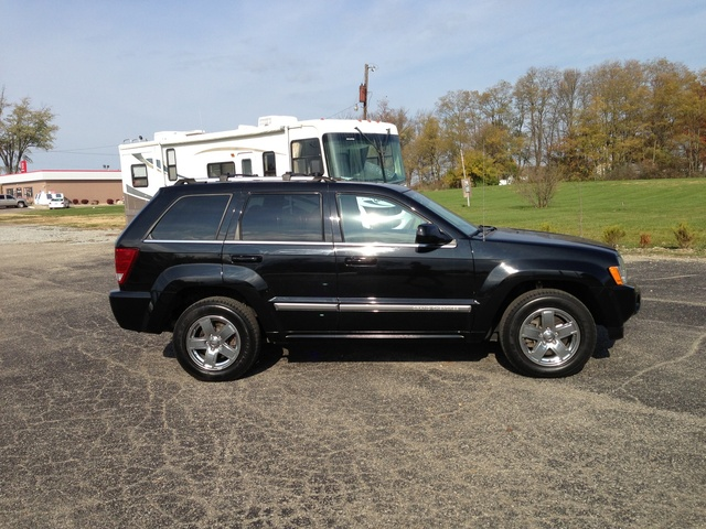picture of 2007 jeep grand cherokee overland 4wd exterior. Black Bedroom Furniture Sets. Home Design Ideas