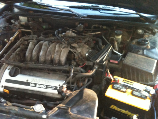 Picture of 1996 Nissan Maxima GXE, engine, gallery_worthy