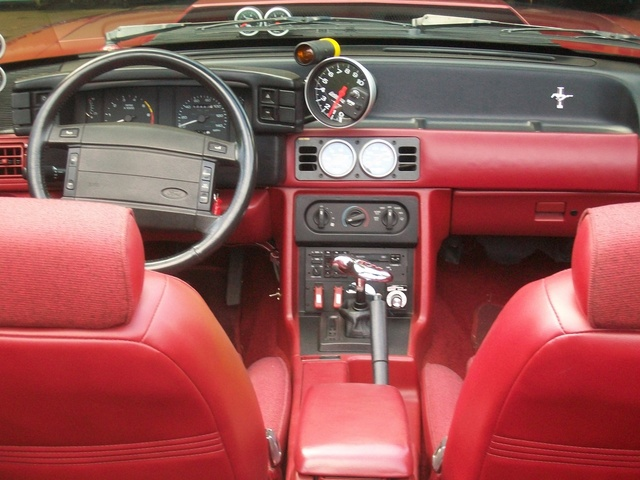 1991 Ford Mustang Interior Pictures Cargurus