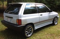 1988 Ford Festiva LX, This little car has been an ECONOMY life saver!, exterior