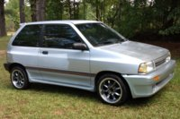1988 Ford Festiva LX, 1988 Festiva, Work in progress., exterior