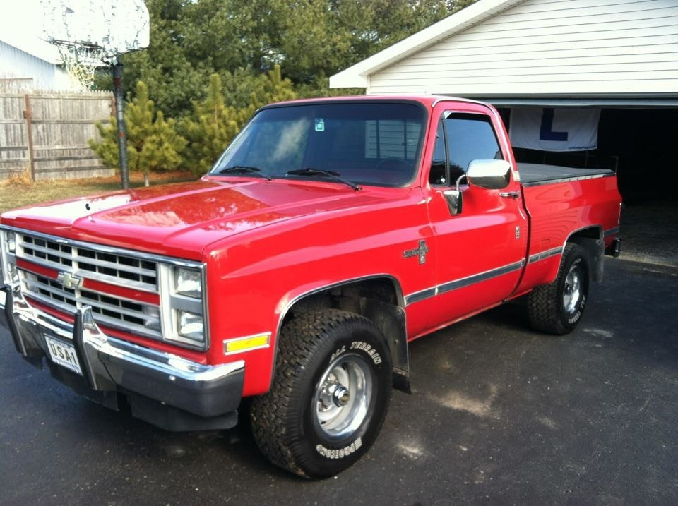 1987 chevrolet silverado c 10 on 2040cars pictures to pin on pinterest