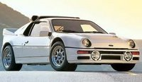 1984 Ford RS200 Overview