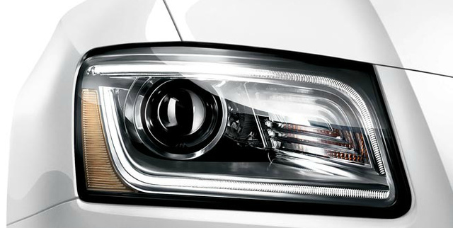 2013 Audi Q5, Headlight., exterior, manufacturer