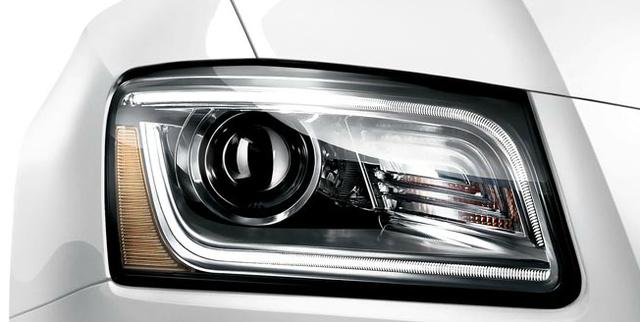 2013 Audi Q5, Headlight., exterior, manufacturer