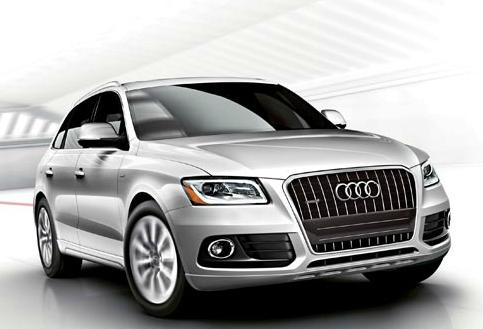 2013 Audi Q5, Front quarter view., exterior, manufacturer