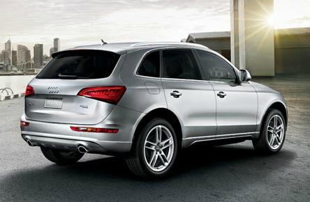2013 Audi Q5, Back quarter view., exterior, manufacturer