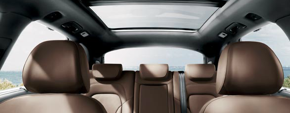 2013 Audi Q5, Front and back seat., manufacturer, interior
