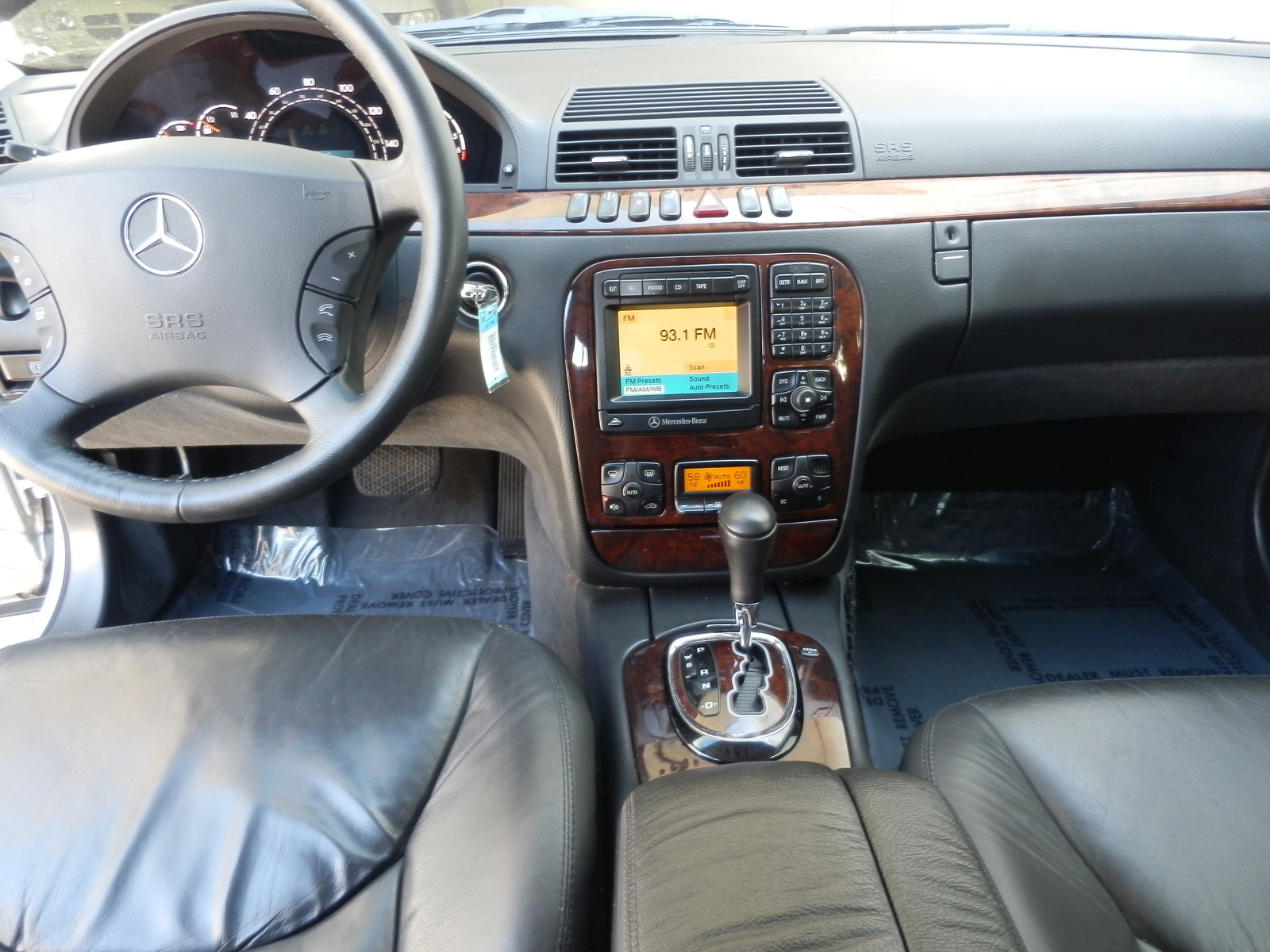 2000 mercedes benz s class interior pictures cargurus for Mercedes benz s class 2000