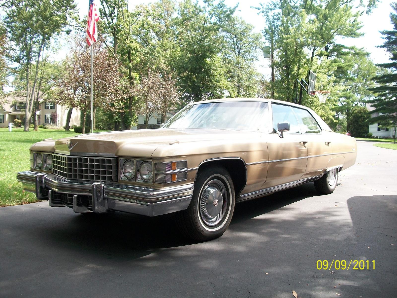 1974 Cadillac DeVille - Pictures - CarGurus