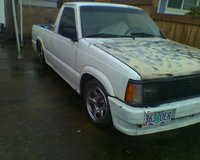1986 Mazda B2000, Before all the mods. dont have a pic of the after, sorry, exterior