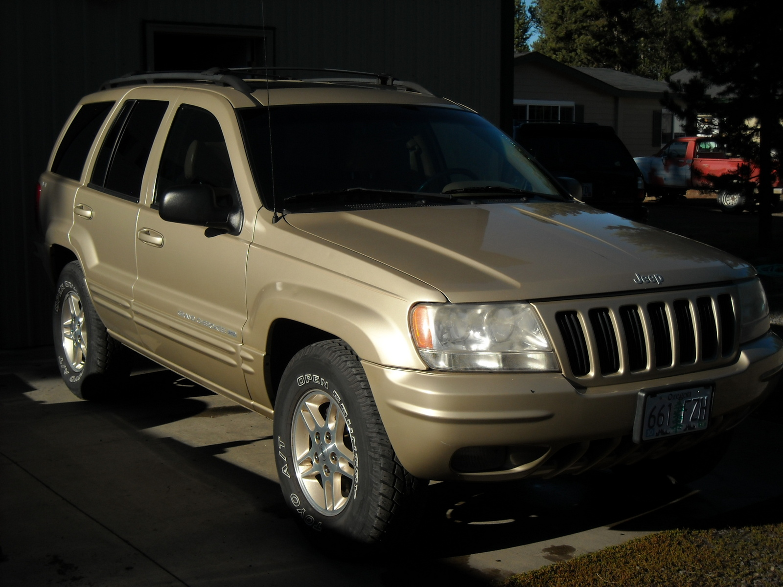 1999 jeep grand cherokee limited 4wd picture exterior. Cars Review. Best American Auto & Cars Review
