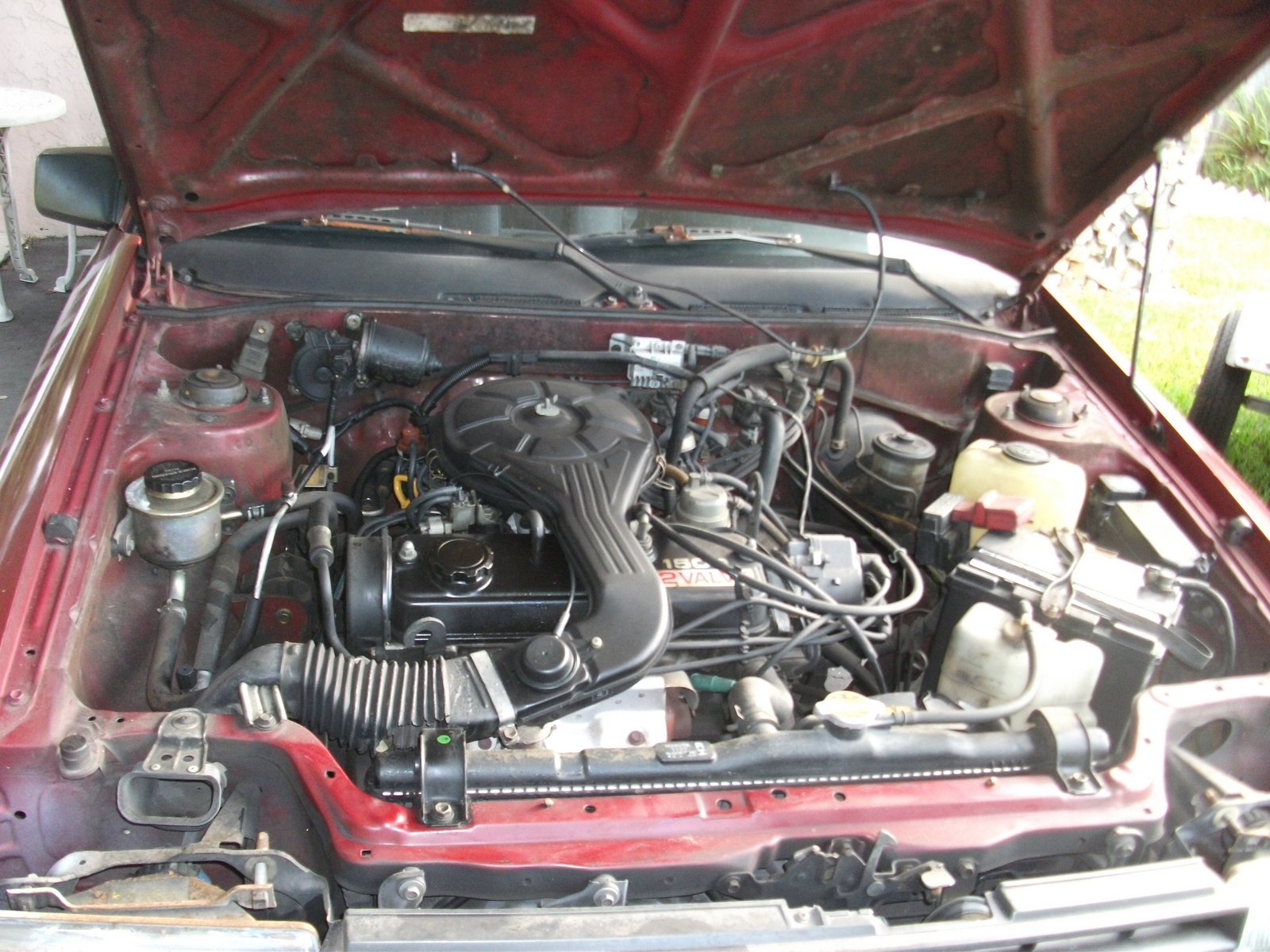 Toyota Tercel Dr Deluxe Coupe Pic on 1987 Toyota Tercel Engine